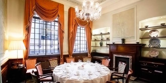 Private Dining Venue, The Oriental Room, London Capital Club, Prestigious Venues