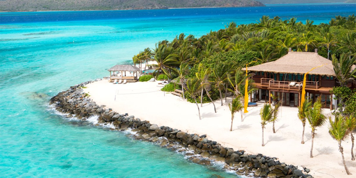 Sir Richard Branson's Home and Favourite Hideaway, Necker Island, British Virgin Islands, Caribbean, Prestigious Venues