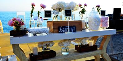 Wedding Decorations On The Beach in Cyprus, Aphrodite Hills Resort Cyprus, Prestigious Venues