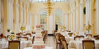 Wedding Setup, Blenheim Palace, Prestigious Venues