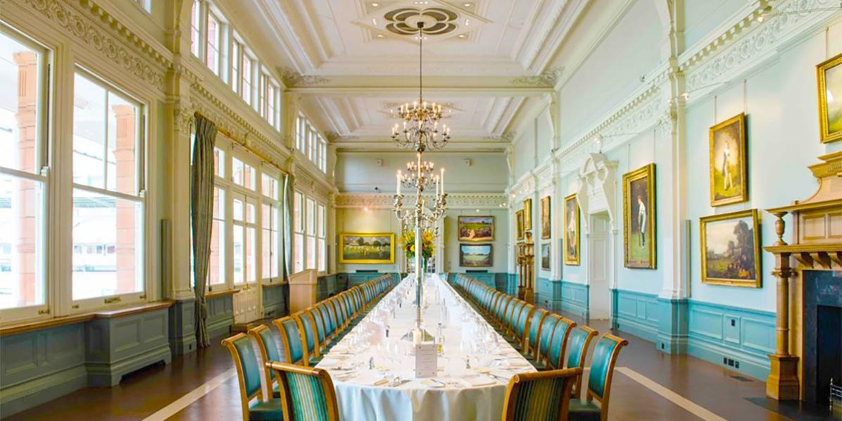 Lords, The Home Of Cricket, Long Table, Event Spaces, Prestigious Venues