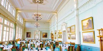 Lords, The Home Of Cricket, The Long Room, Round Tables, Event Spaces, Prestigious Venues