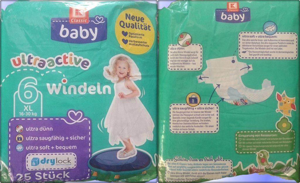 Testpackung K-Classic Baby ultraactive 6 XL