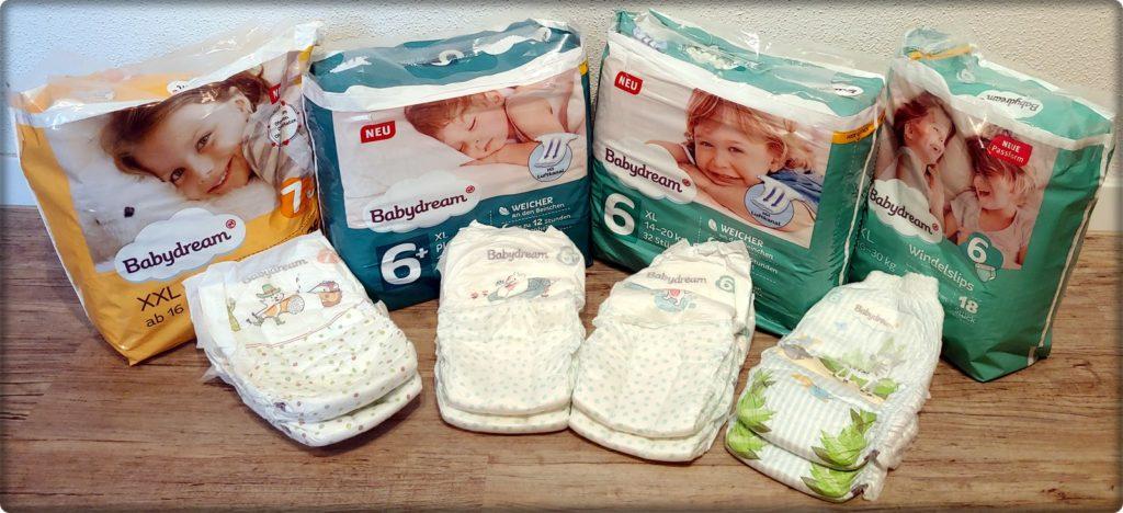 Rossmann Babydream Produktpalette ab Größe 6: Klebewindeln und Pants im Test