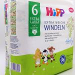 Einzelpack Hipp Babysanft Windeln Größe 6 Vorderseite
