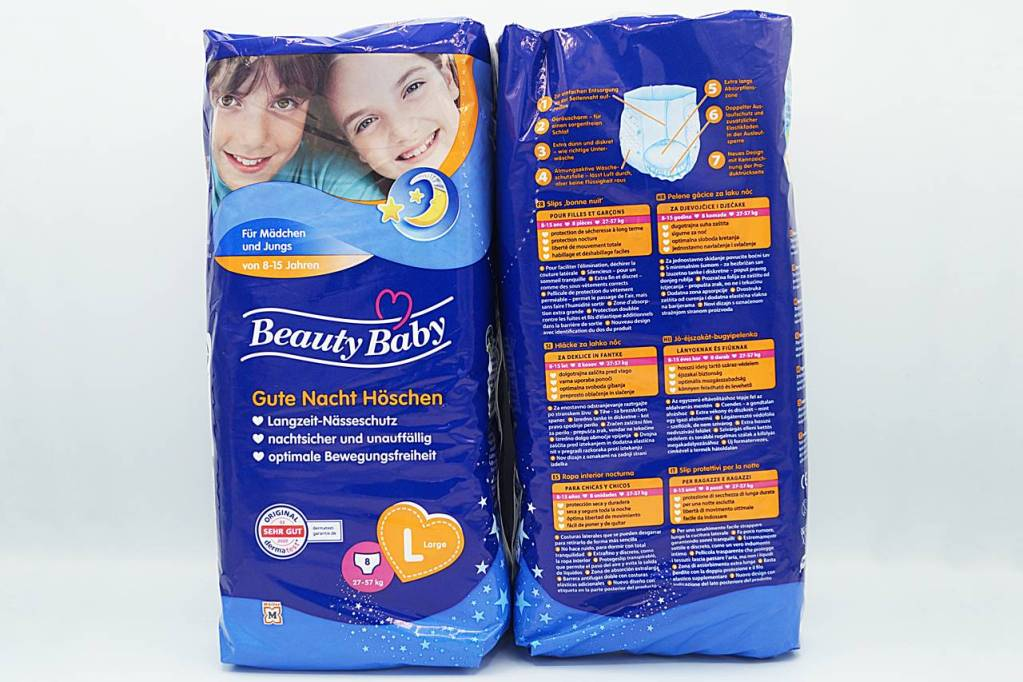 Cover der Beauty Baby Gute Nacht Pants L 8-15 Jahre