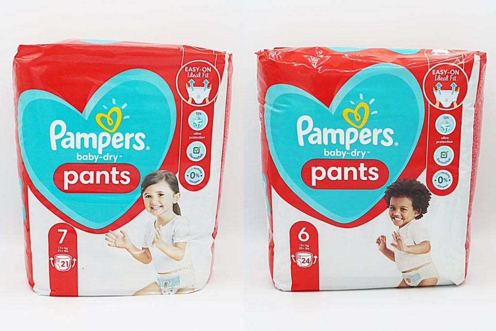 Cover der Pampers baby-dry pants Gr. 6 und 7