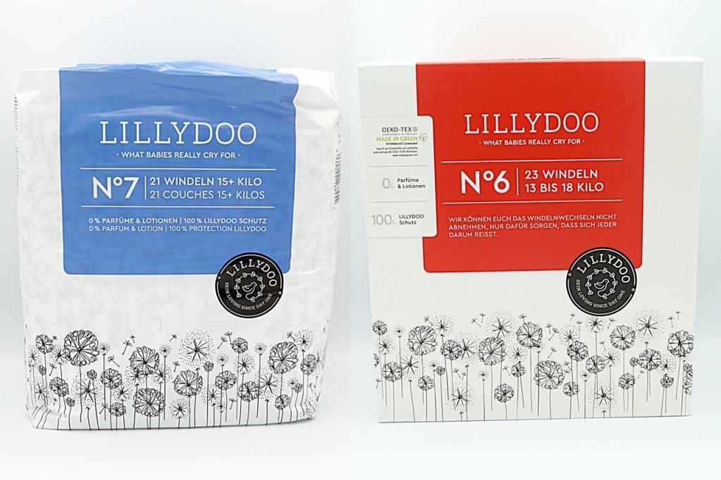 Lillydoo Windeln N°6 und N°7 Cover