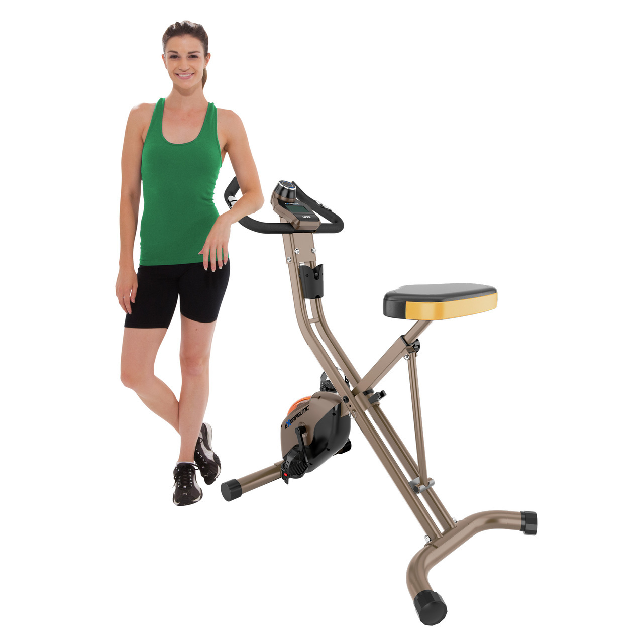 Best exercise bike for tall person that tracks your workout progress