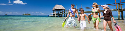 Fiji islands resorts for families