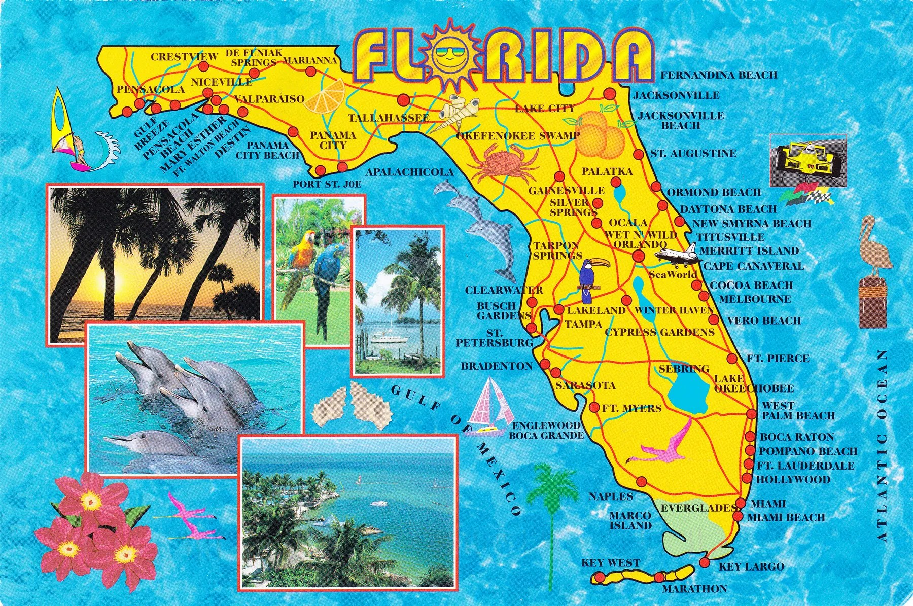 Map Of Florida Cities Map Of The World Homeschooling In Florida - Florida map beach