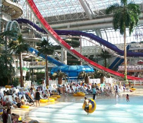 Top Indoor waterparks Canada