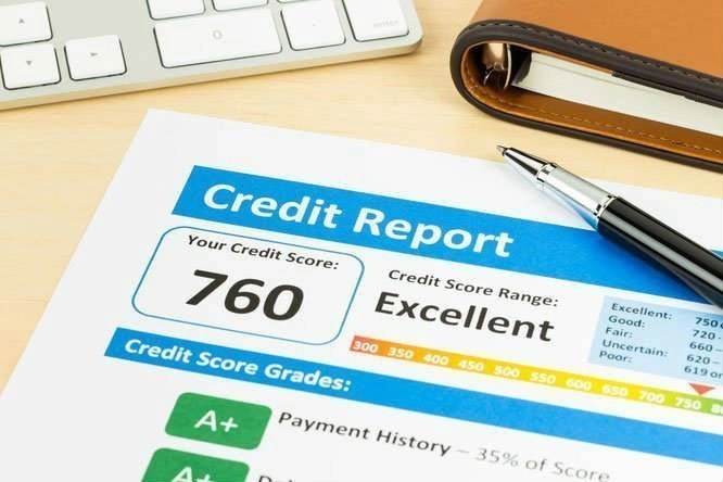 credit report for a construction loan