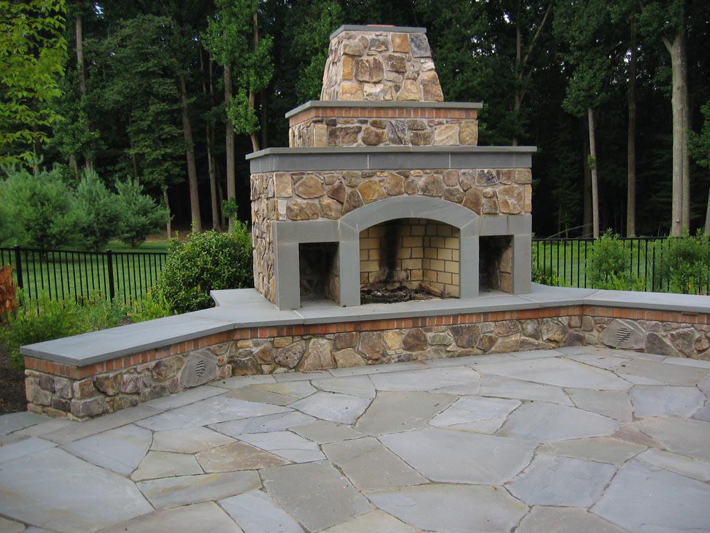chimney outdoor fire pit fire pit design ideas