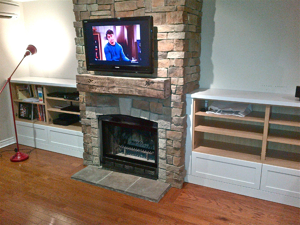Diy Fireplace How To Build A Fireplace Surround And Its