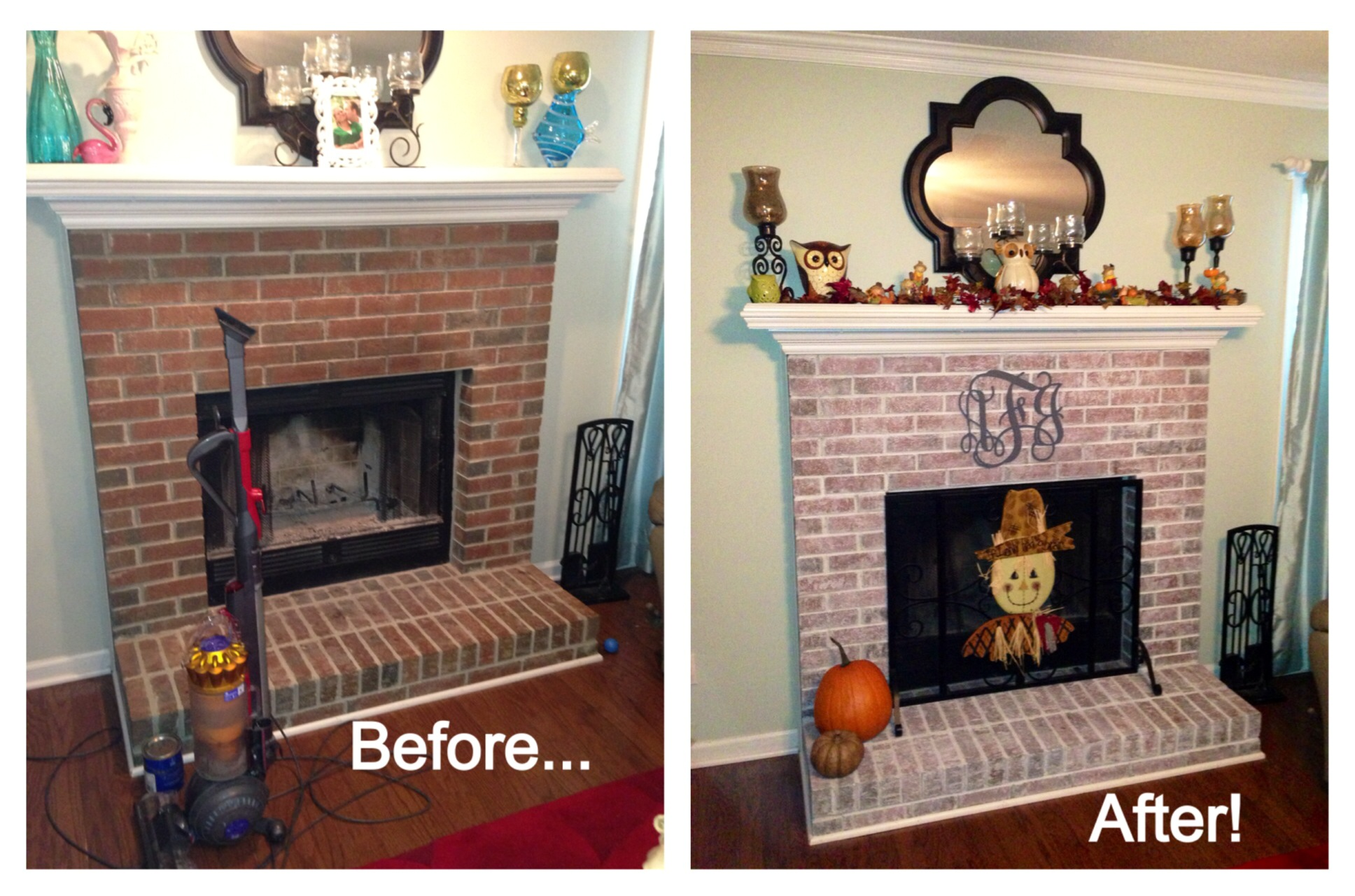 Did You Want To Whitewash Brick Fireplace In Your House