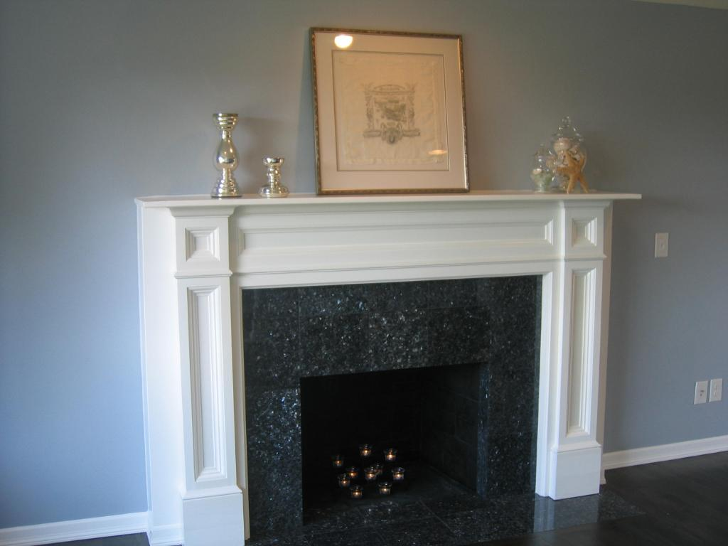Types Of White Fireplace Surround