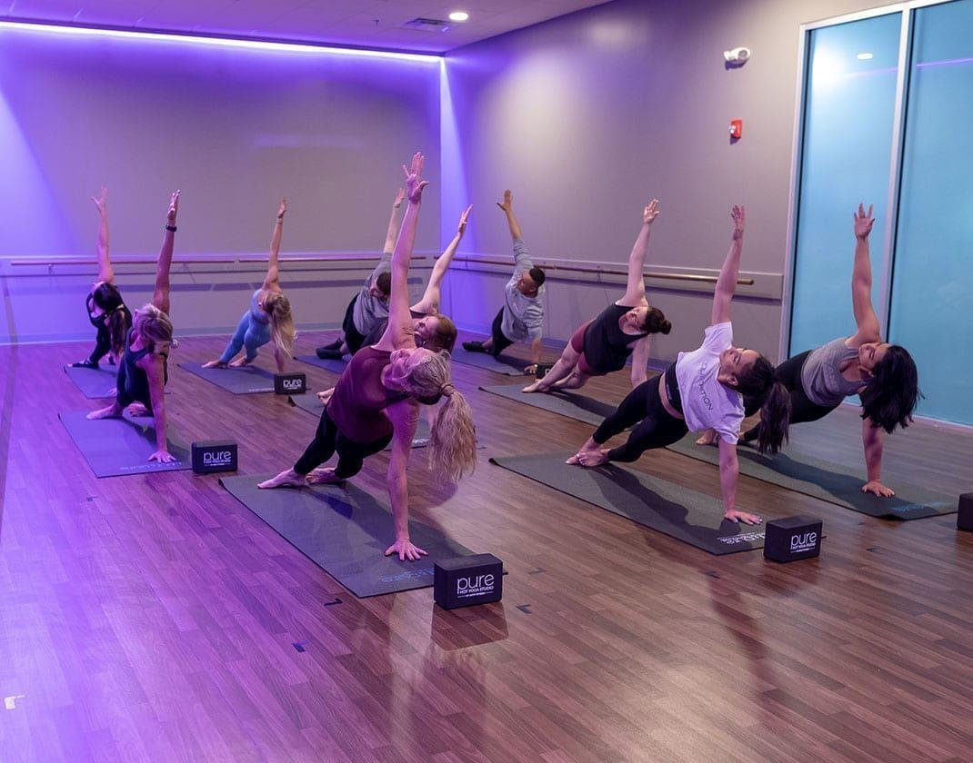 yoga studio all fitness levels best