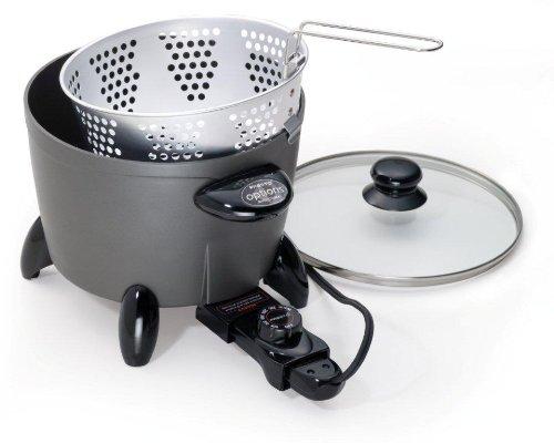 Deep Removable Fryer Pot