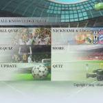 Football Knowledge Quiz App