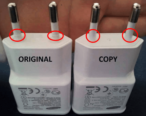 Battery Charger 2 - Fake vs Genuine Samsung Chargers/USB Cables