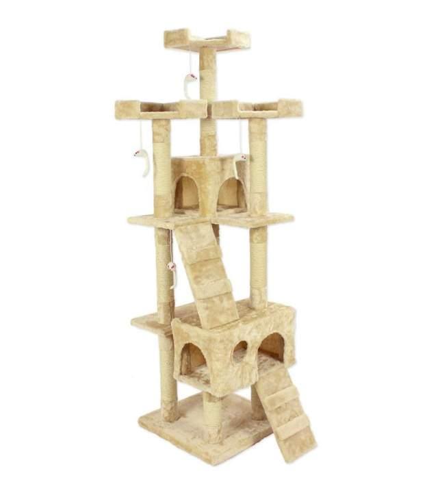 Cozy Pet Deluxe Multi Level Cat Tree Scratcher & Activity Centre