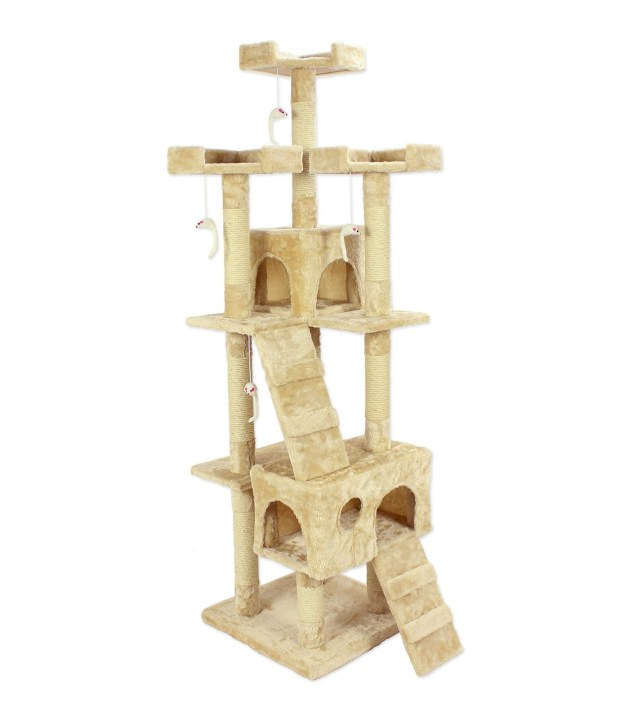 Cozy Pet Deluxe Multi Level Cat Tree Scratcher & Activity Centre
