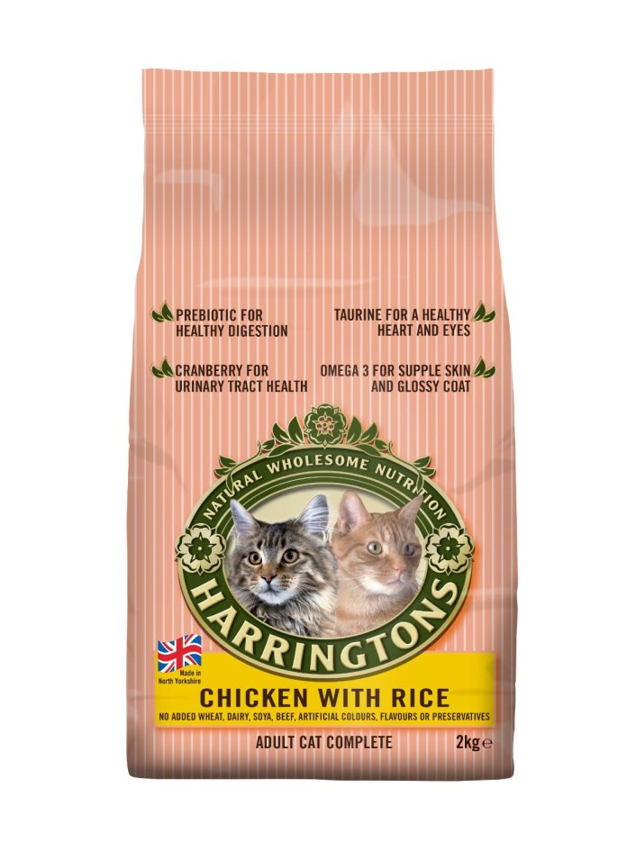 Harringtons Cat Food Complete Chicken with Rice