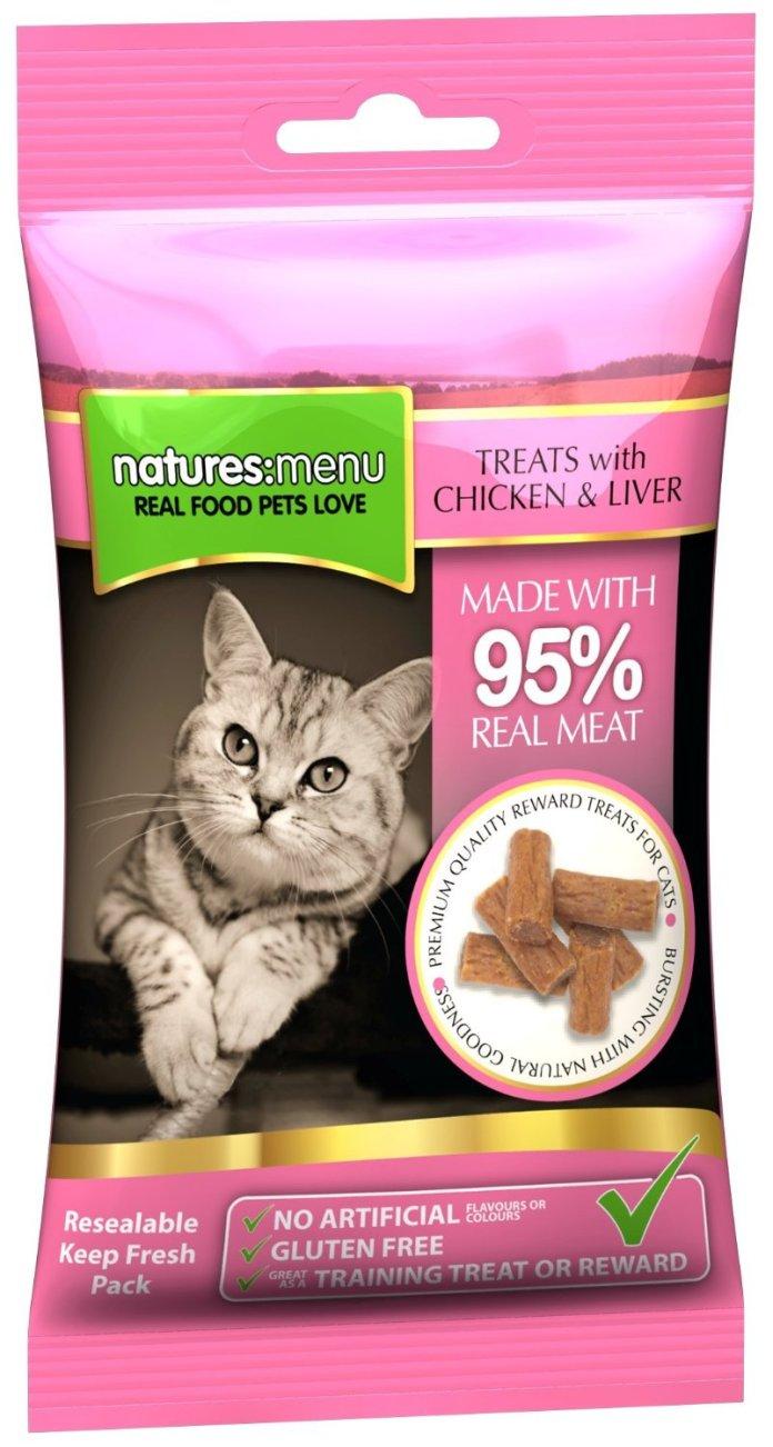 Natures Menu Cat Treats - Real Chicken & Liver