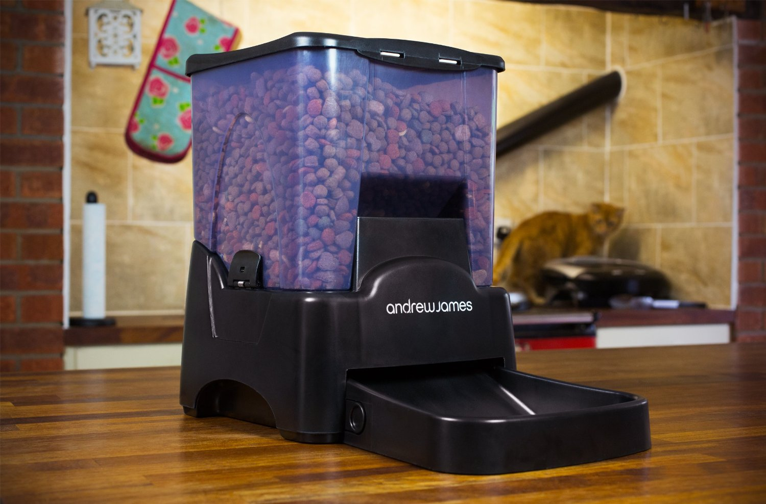 Andrew James New Automatic Pet Feeder