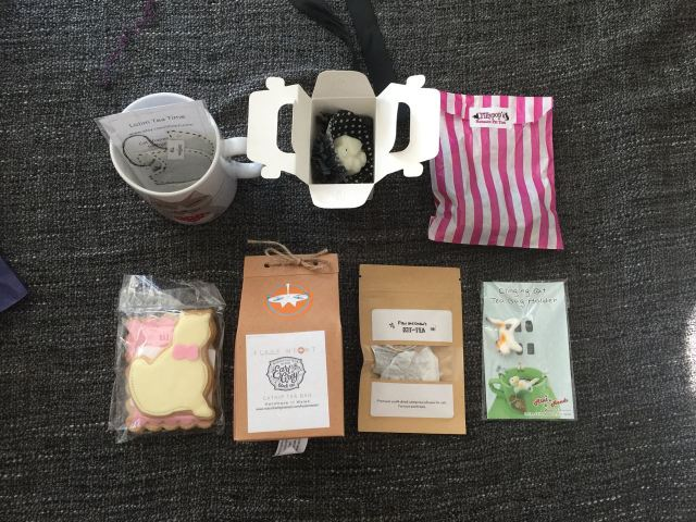 September's My Purrfect Gift Box contents