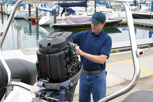 How to Install an Outboard Motor on Transom