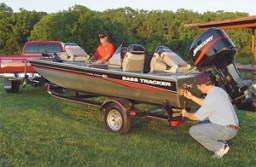 How to Secure a Boat trailer From Theft