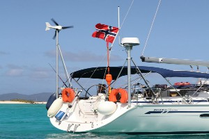 How to install a wind turbine on your boat
