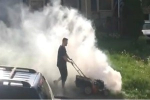 How to Fix a Smoking Lawn Mower