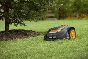 Robot Lawn Mower Without Boundary Wire