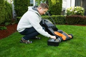 best lawn mower battery charger