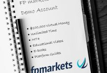 FP Markets best forex demo account
