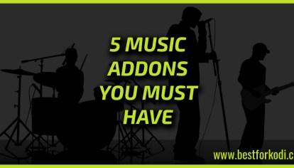 Sparky's Top 5 Kodi Addons - Best for Kodi