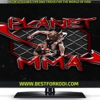 Install Planet MMA Kodi Addon - Formally UFC Finest