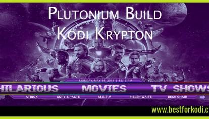 A Sneaky Peak at The Collusion Build Krypton - Kodi 17 6