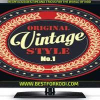 Install Guide Vintage Kodi Addon Repo