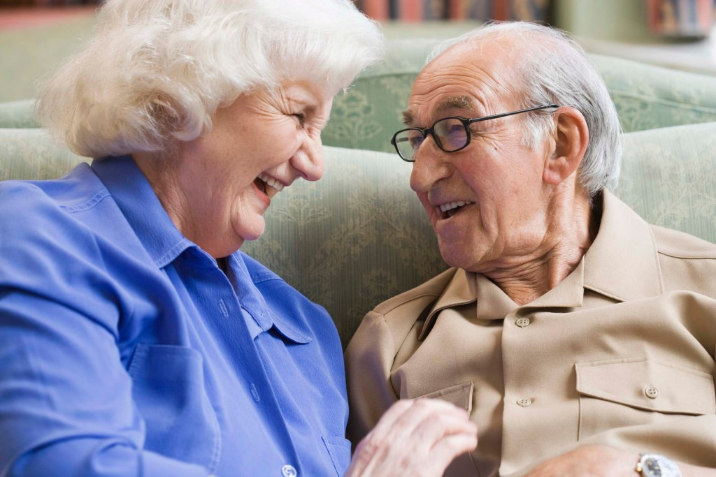 A Good Laugh Can Tackle Dementia In Seniors