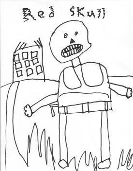 lego red skull coloring pages sketch template