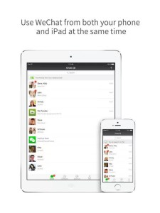 Download WeChat for iPad