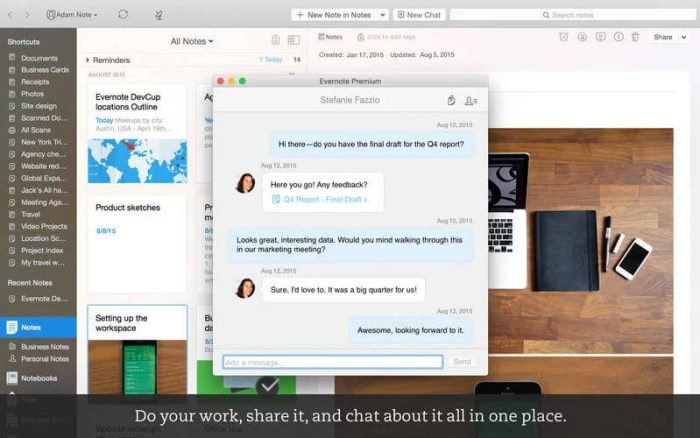 Download Evernote for iPad