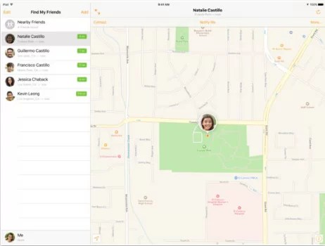 Download Find My Friends for iPad