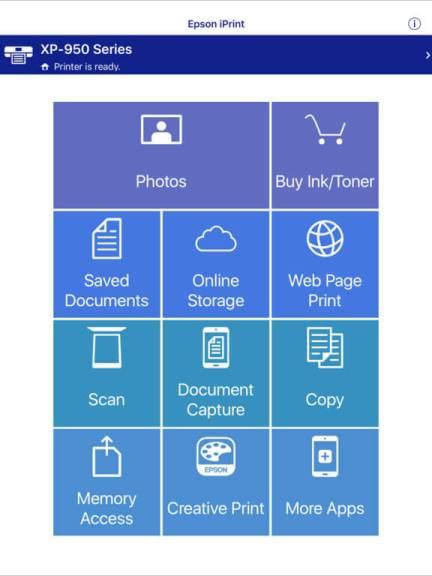 Download Epson Printer App for iPad
