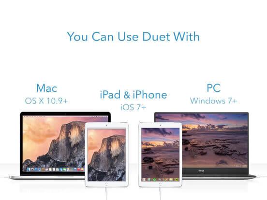 Download Duet Display for iPad