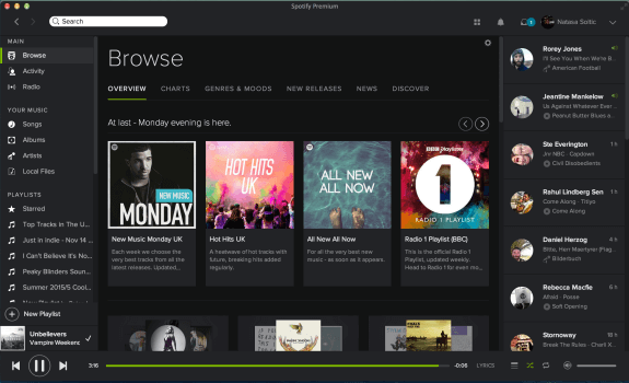 Download Spotify for Mac